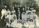 Marriage of William Parris and Rosa Ellen Hother, 1908